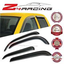 For 2009-2014 Nissan Cube Vent Shade Guard Window Visors Deflector Smoke 4PC