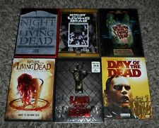 Night of the Living Dead Return Rave Land & Day Horror Dvd Movies Lot of 7x Used