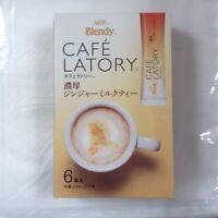 Agf Blendy Cafe Latory Stick Ginger Milk Tea 6 sticks from Japan