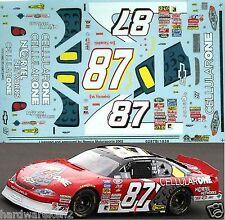 NASCAR DECAL #87 CELLULAR ONE 2002 BGN MONTE CARL JOE NEMECHEK SLIXX