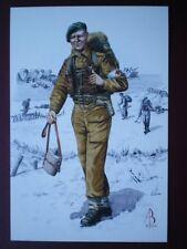 POSTCARD ROYAL ARMY MEDICAL CORPS MEDICAL ORDERLY -1944  A TROOP 45 ROYAL MARINE