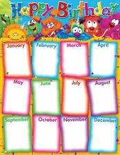Furry Friends - Happy Birthday Classroom Planner Chart