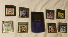Nintendo Game Boy Color - Purple with Games