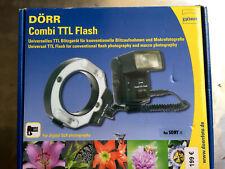 Dörr COMBI TTL Ringflash 371032 für SONY alpha-TTL IBlitzautomatik - NEUWARE -