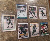(7) 1990-91 Bobby Holik OPC Premier Upper Deck Score Rookie card lot Devils RC