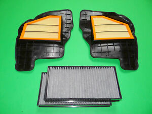 Luftfilter + Aktivkohle Pollenfilter BMW X6 E71 E72 50iX (300kW/408PS)