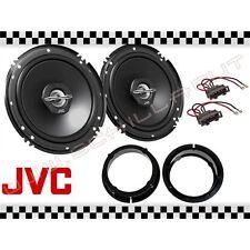Par arcas JVC + soportes VW GOLF 4 IV 16,5cm altavoces