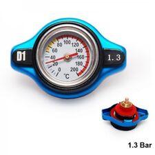 D1 Spec Universal Racing Thermostat Radiator Cap Cover Water Temp gauge 1.3 Bar