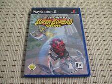 Star Wars Super bombad Racing para Playstation 2 ps2 PS 2 * embalaje original *