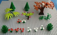 Lego plant trees leaves bush Green with brown owl for the Garden