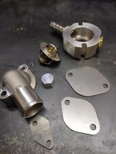 Mazda MX5 Miata NA NB coolant reroute kit designed by F4Fabrication