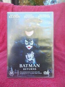BATMAN RETURNS,TIM BURTON,DANNY DEVITO,MICHAEL KEATON DVD M R4