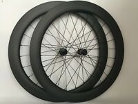 Carbon Disc  Brake Wheelset 60mm Road Bike Tubeless wheel carbon Bicycle Wheels