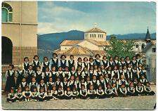 CASCIA (PERUGIA), ALVEARE DI S. RITA, BAMBINI DAVANTI LA BASILICA, 1965