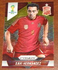 2014 Prizm World Cup Xavi Hernandez Pulsar Yellow Base #180 Spain Refractor
