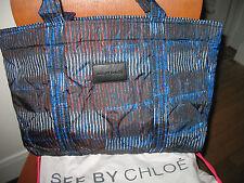 NWT See by Chloé Porte Epaule Shoulder Bag, Newyork Print