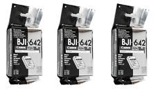 3 x Original Canon BJI-642 schwarz black BJ-300 BJ-300J BJ-330 BJ-330J NEU