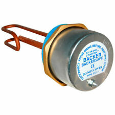 "Backer Backersafe 11"" Immersion Heater Complete with thermostat- BAK311"
