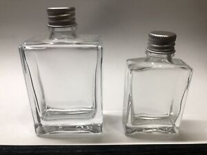 Dropper bottle 30ml and 60ml Clear With Lid Lot Beard Oil Perfume Essential Oil