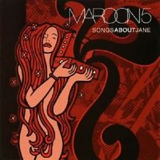 """MAROON 5 """"SONGS ABOUT JANE"""" CD NEUWARE"""