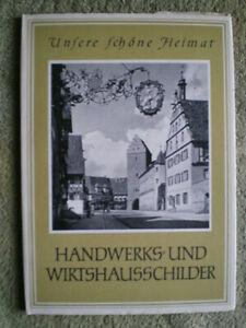 Handwerks- und Wirtshausschilder - Schmiedekunst Schilder Metall DDR Buch 1958