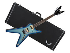 Dean Ml 79 Floyd electric Guitar Blue Burst Ml79 Bb new w/ Dean Hard Case