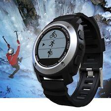 Multi Sport GPS Running Watch w/Heart Rate Monitor Waterproof Activity Tracker