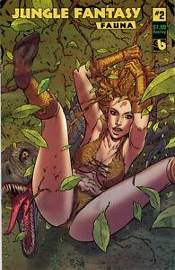 Jungle Fantasy Fauna #2 Soaring Variant Boundless Comics 2021
