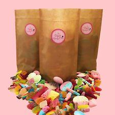 1kg Vegan Sweets Pick & Mix Vegetarian Retro Assortment Candy Jelly Hamper Gift