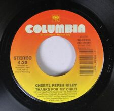 Soul 45 Cheryl Pepsii Riley - Thanks For My Child / Child (The Confrontation Mix