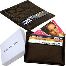 Calvin Klein, Kreditkartenetui (super flach 5mm) EC-/Visa Karten Etui Kartenetui