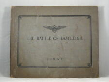 THE BATTLE OF EASTLEIGH ENGLAND 1918 U.S.N.A.F. Frederick Bolle WWI 1st Edition