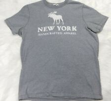 Men's Abercrombie & Fitch New York Short Sleeve Muscle T-Shirt Size L