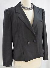 PEABODY HOUSE Wool Blazer Puffed Sleeves Victorian jacket light coat 13 14 VTG