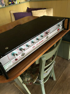 Vintage Early 1980s HH Electronic V-S Bass Amplifier 100w