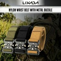 UPGRADE Tactical Belts Nylon Military Waist Belt Heavy Duty Training Waist BELT