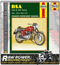 Bsa A50 Star Twin (499cc) 1961 - 1965 Haynes Manual (0155)