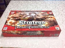 Stratego Transformers Milton Bradley board game ages 8+