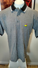⛳️VTG  MASTERS Golf Shop Polo Shirt L) Embroidered  Augusta National Logo  ⛳️