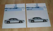 Volvo S80 Brochure Set 2005 - 2.4 140 170 bhp 2.0T 2.5T T6 D5 SE Lux Executive