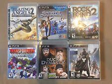 Playstation 3 PS3 6 Games Transformers Devastation Destiny Blazing Angels