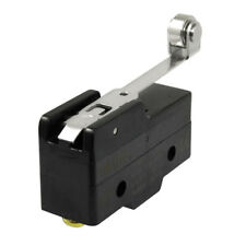 Screw Terminals Long Hinge Roller Lever Micro Limit Switch 380VAC 15A S1W1 I8D2