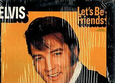 MFD IN U.S.A. CAS-2408 STEREO ROCK LP ELVIS PRESLEY : LET'S BE FRIENDS