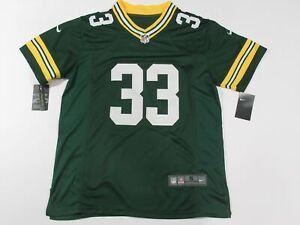 Aaron Jones #33 Green Bay Packers on-Field Men's Game Jersey Green
