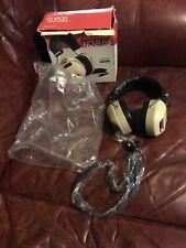 REALISTIC NOVA 65 Stereo Headphones Volume Controls In Box