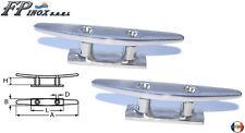 """Taquet """" Mast """" Longueur 125mm ( Lot de 2 ) inox 316 - A4"""