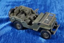VINTAGE GATE 1/32 JEEP WILLYS MILITARY TRUCK ARMY DIECAST