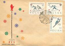 Poland 1962 cover space . kn833
