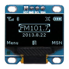 """0.96"""" OLED Display I2C Interface Serial 128x64 White SSD1306 Arduino Module"""