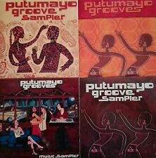 "PUTUMAYO WORLD MUSIC ""Putumayo Groove sampler"" promo rare stock lot 4cd"